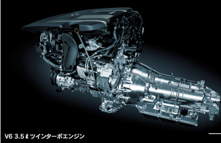 2020年フルモデルチェンジ予想ランドクルーザー300系参考レクサスエンジン画像