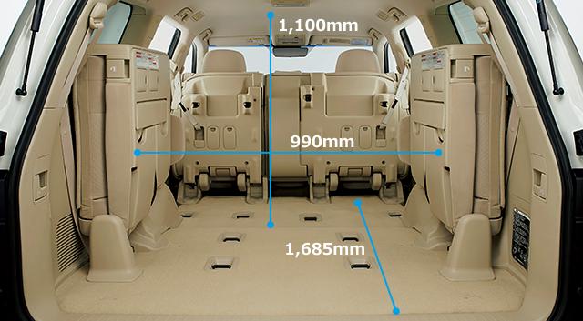 2020年フルモデルチェンジ予想ランドクルーザー300系参考現行車内装画像‐4