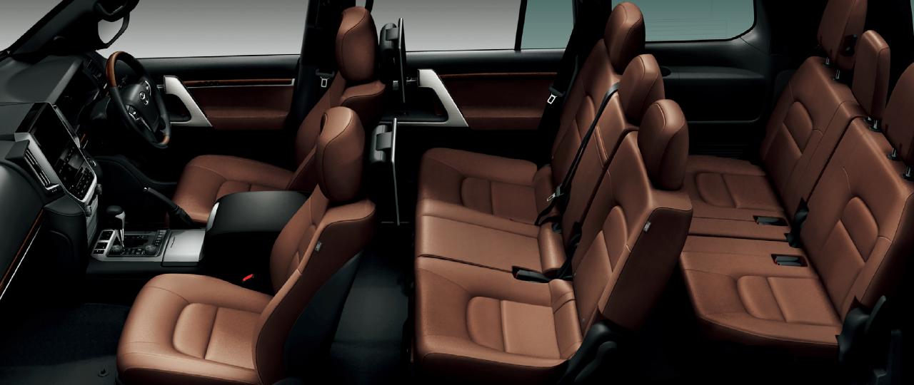 2020年フルモデルチェンジ予想ランドクルーザー300系参考現行車内装画像‐2