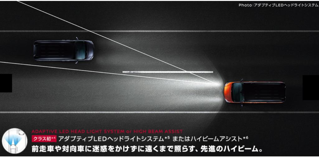 新型セレナ マイナーチェンジ 変更点 アダプティブヘッドライト 追加