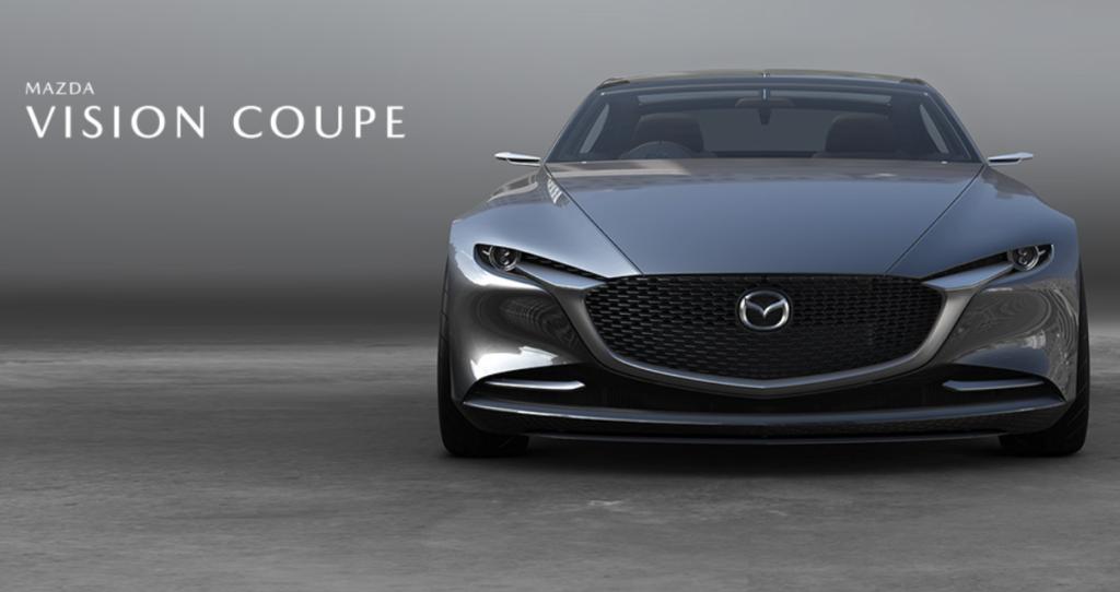 2020年 マツダ新型MAZDA6のフルモデルチェンジ 参考 ビジョンクーペ