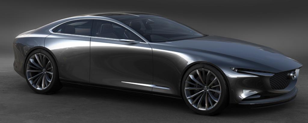 2020年 マツダ新型MAZDA6のフルモデルチェンジ 参考 デザインクーペー2