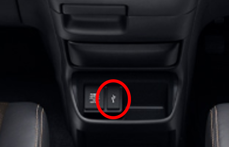 発売日2019年10月18日改良車新型車フリードエ変更点充電ソケットの追加-3