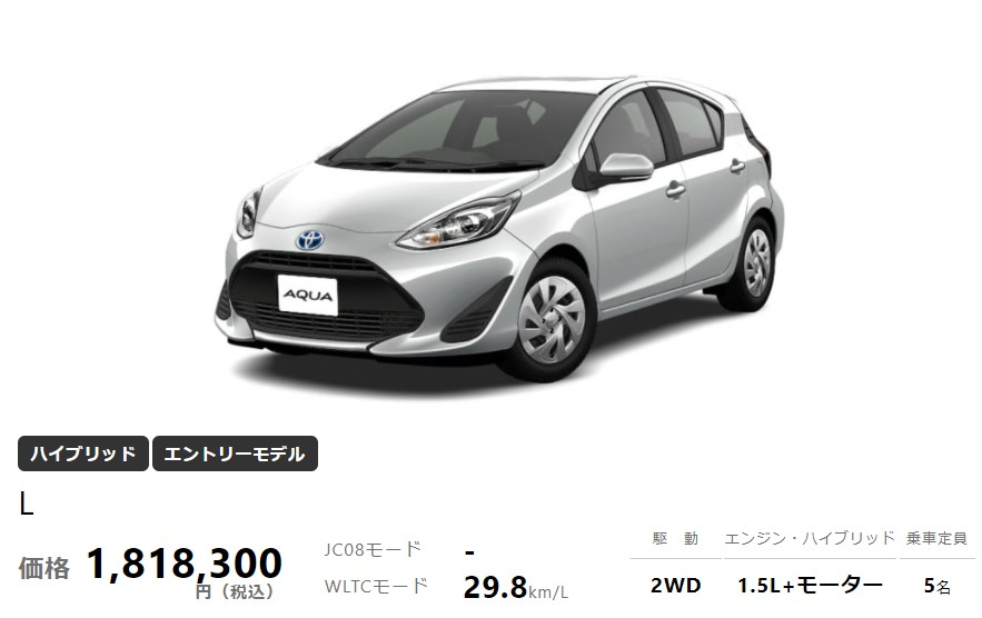 new toyota aqua full model change price image