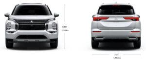 新型 三菱 アウトランダー フルモデルチェンジ ボディサイズ 表